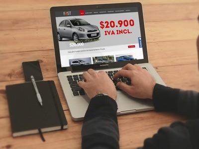 Fast Rental  - Diseño Web Osorno