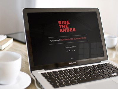 Ride the Andes - Diseño Web Osorno